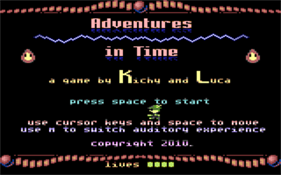 Adventures in Time - Screenshot - Game Title