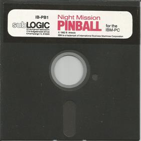 Night Mission Pinball - Disc