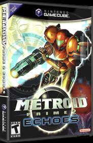 Metroid Prime 2: Echoes - Box - 3D