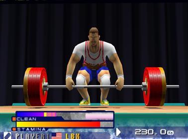 International Track & Field 2000 - Screenshot - Gameplay