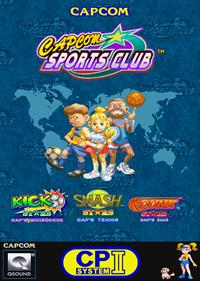 Capcom Sports Club - Fanart - Box - Front