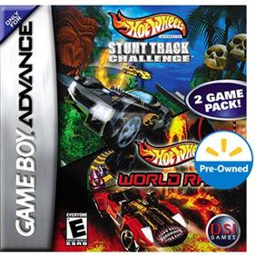 2 Game Pack!: Hot Wheels: Stunt Track Challenge + Hot Wheels: World Race