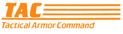 TAC: Tactical Armor Command - Clear Logo