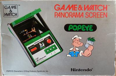 Popeye (Panorama Screen) - Box - Front