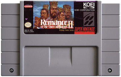 Romance of the Three Kingdoms II - Fanart - Cart - Front