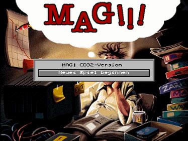 Mag!!! - Screenshot - Game Title