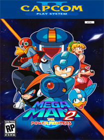 Mega Man 2: The Power Fighters - Fanart - Box - Front
