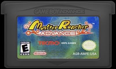 Monster Rancher Advance - Cart - Front