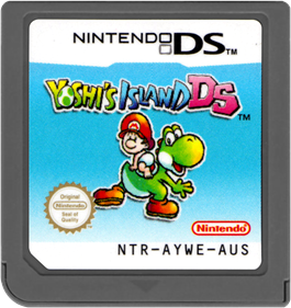 Yoshi's Island DS - Cart - Front