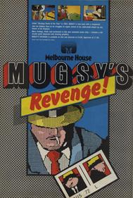 Mugsy's Revenge! - Advertisement Flyer - Front