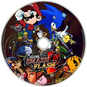 Super Smash Flash 2 - Fanart - Disc