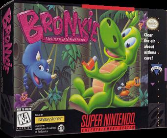 Bronkie the Bronchiasaurus - Box - 3D