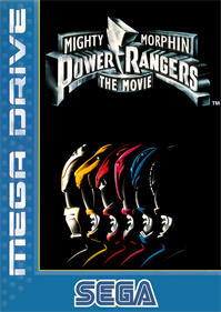 Mighty Morphin Power Rangers: The Movie - Box - Front