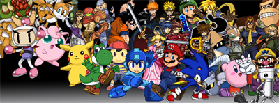 Super Smash Flash 2 - Fanart - Background