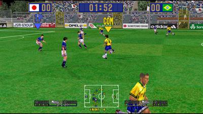 Virtua Striker 2 '99 - Screenshot - Gameplay