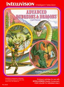 Advanced Dungeons & Dragons: Cloudy Mountain - Box - Front - Reconstructed
