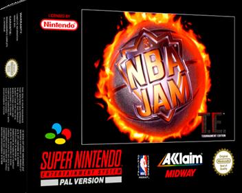 NBA Jam Tournament Edition - Box - 3D