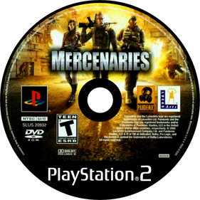 Mercenaries: Playground of Destruction - Disc