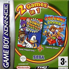 2 Games in 1: Sonic Pinball Party + Columns Crown