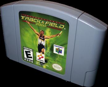International Track & Field 2000 - Cart - 3D
