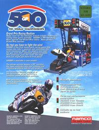 500 GP - Advertisement Flyer - Front