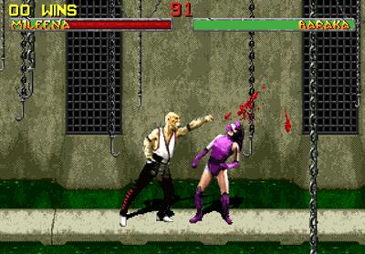 Mortal Kombat II - Screenshot - Gameplay