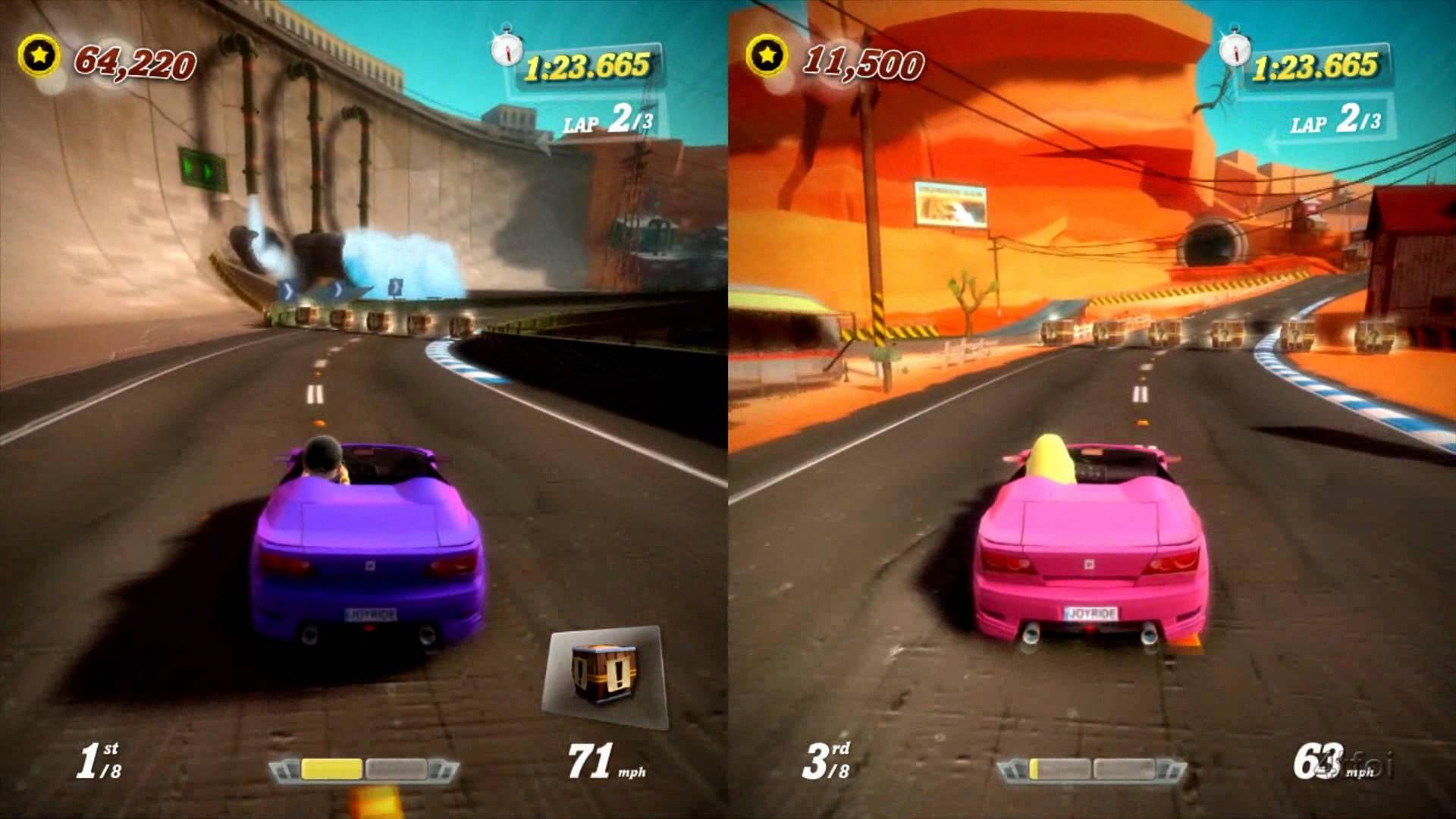 Joy Ride Turbo Details - LaunchBox Games Database