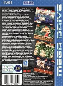 Mega Turrican - Box - Back