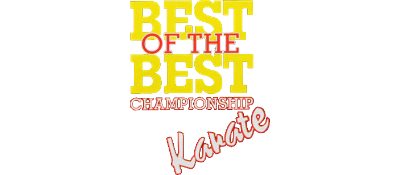 Best of the Best: Championship Karate - Clear Logo