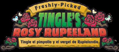 Freshly-Picked: Tingle's Rosy Rupeeland - Clear Logo