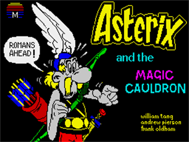 Asterix and the Magic Cauldron - Screenshot - Game Title
