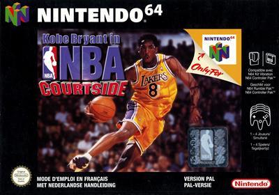 Kobe Bryant in NBA Courtside - Box - Front