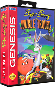 Bugs Bunny in Double Trouble - Box - 3D