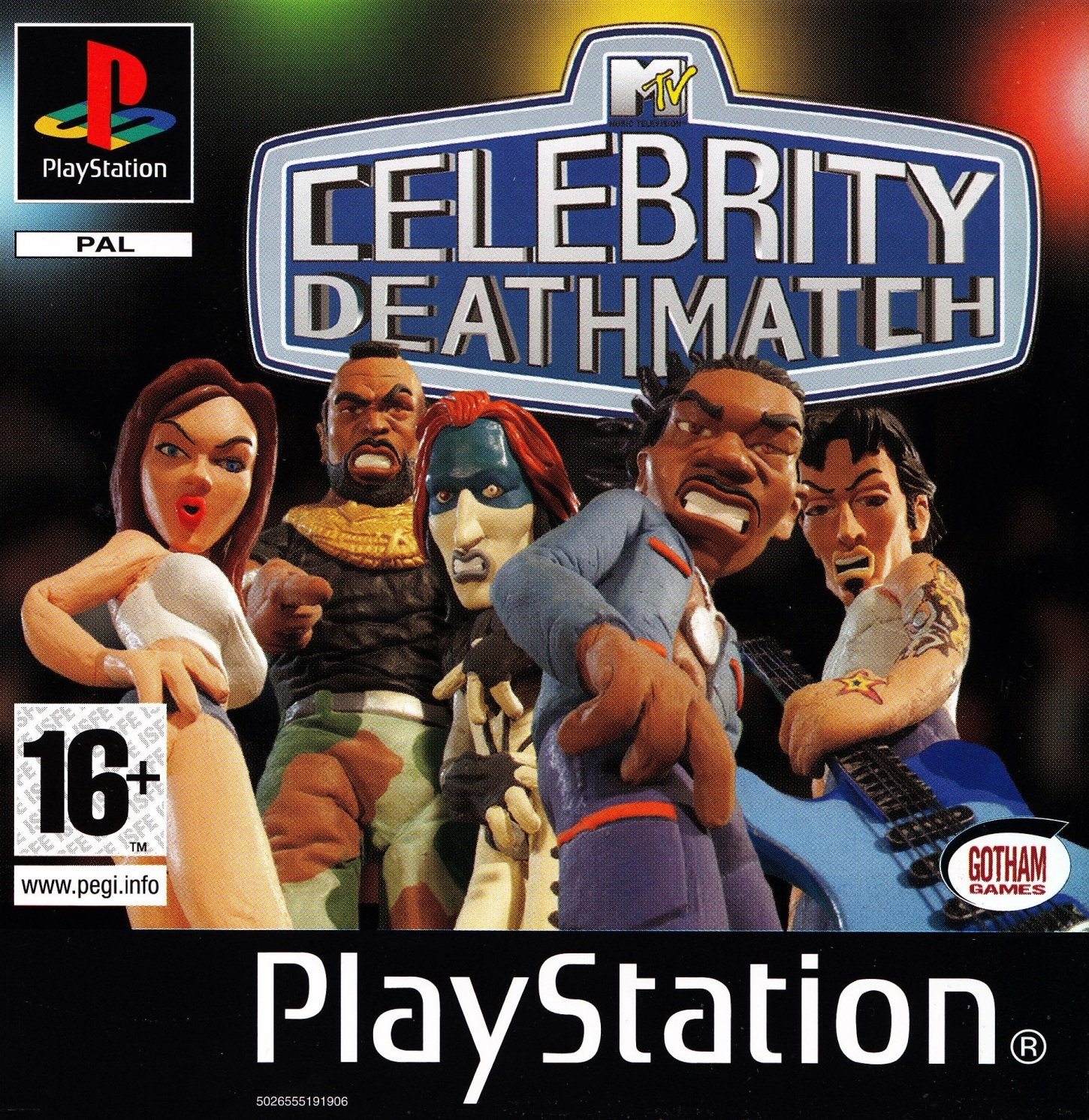 Psx mtv celebrity deathmatch coolrom