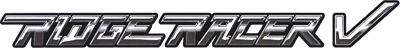 Ridge Racer V - Clear Logo