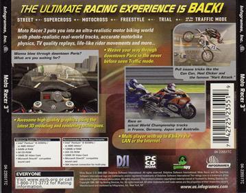 Moto Racer 3 - Box - Back