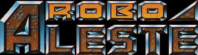 Robo Aleste - Clear Logo