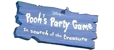 Disney's Pooh's Party Game: In Search of the Treasure - Clear Logo