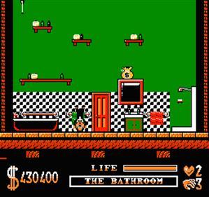 The Addams Family - Screenshot - Gameplay