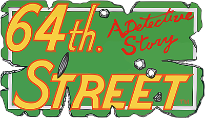 64th. Street: A Detective Story - Clear Logo