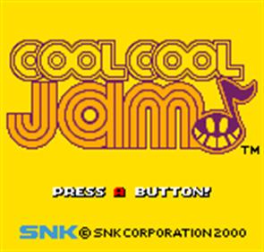 Cool Cool Jam - Screenshot - Game Title