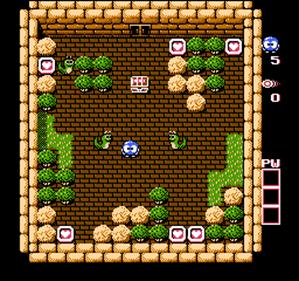 Adventures of Lolo 2 - Screenshot - Gameplay
