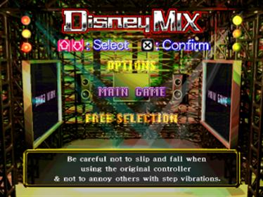 Dance Dance Revolution: Disney Mix - Screenshot - Game Title