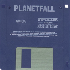 Planetfall - Disc