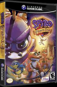 Spyro: A Hero's Tail - Box - 3D