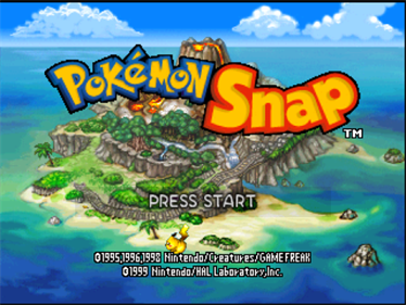 Pokémon Snap - Screenshot - Game Title
