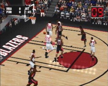 NBA Live 2001 - Screenshot - Gameplay