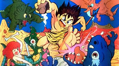 Adventures of Dino Riki - Fanart - Background