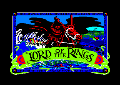 Lord of the Rings: Game One - Screenshot - Game Title