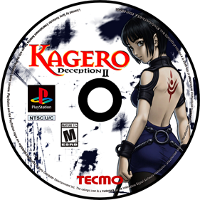 Kagero: Deception II - Fanart - Disc